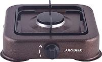 Газовая настольная плита Аксинья КС-101 (коричневый) -