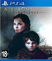 Игра для игровой консоли Sony PlayStation 4 A Plague Tale: Innocence -