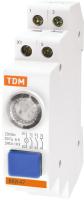 Кнопка на DIN-рейку TDM SQ0214-0002 -