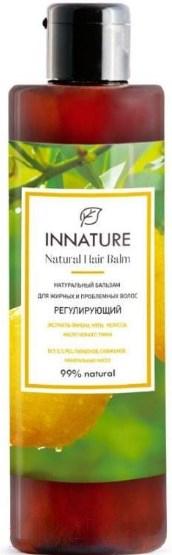Купить Бальзам для волос Innature, Натуральный для жирных и проблемных волос регулирующий (250мл), Россия