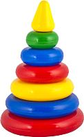 Развивающая игрушка Десятое королевство Пирамидка. Малышок-6К / 1601 -
