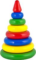 Развивающая игрушка Десятое королевство Пирамидка. Малышок-7К / 1603 -