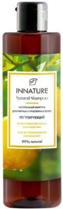 Купить Шампунь для волос Innature, Натуральный для жирных и проблемных волос регулирующий (250мл), Россия