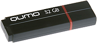 Usb flash накопитель Qumo Speedster 32GB 3.0 Black / QM32GUD3-SP -