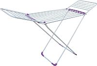 Сушилка для белья Perfecto Linea 46-000214 (бело-фиолетовый) -