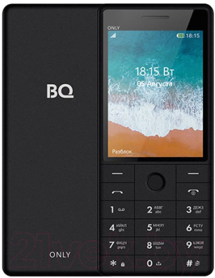 Мобильный телефон BQ Only BQ-2815 (черный)