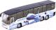 Автобус игрушечный Технопарк Аэропорт / CT10-025(SB) -