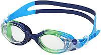 Очки для плавания Fashy Kids Match / 4134-00-04 (прозрачный/синий/зеленый) -
