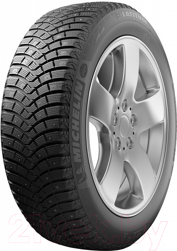 Купить Зимняя шина Michelin, Latitude X-Ice North 2+ 275/40R20 106T (шипы), Франция
