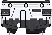 Защита картера и КПП SHERIFF для Volkswagen Polo / 26.2913 -