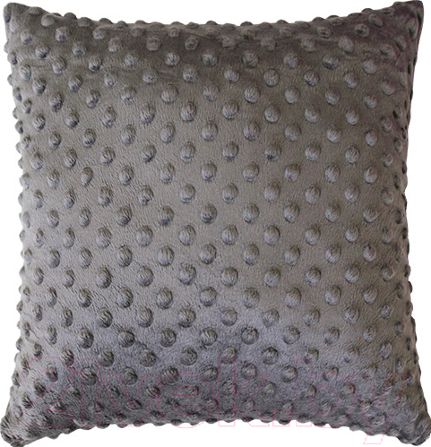 Купить Подушка декоративная MATEX, Hill / 11-392 (серый), Беларусь