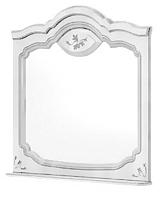 Зеркало Мебель-Неман Орхидея СП-002-19Д2 (белый полуглянец) -