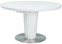 Обеденный стол Signal Orbit 120 (белый лак) -