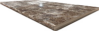 Столешница для шкафа-стола Интерлиния Опал шоколад 26 (130x60) -