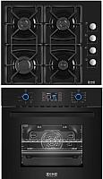 Комплект встраиваемой техники Zorg Technology BE10 LD BL + BP1 FD BL -