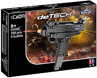 Конструктор CaDa Пистолет-пулемет / C81008W (307эл) -