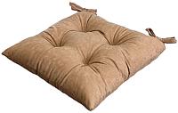 Подушка на стул MATEX Velours / 03-267 (кофе) -