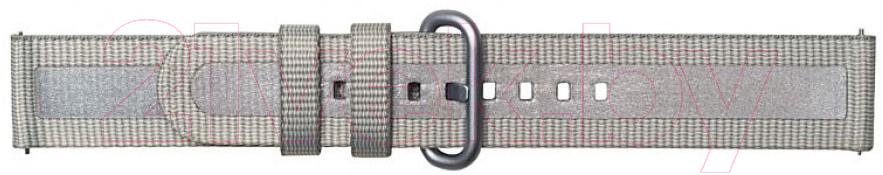 Купить Ремешок для умных часов Samsung, Braloba Active Textile / GP-XVR500BRAJW (серый), Россия