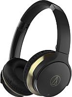 Наушники-гарнитура Audio-Technica ATH-AR3BT (черный) -
