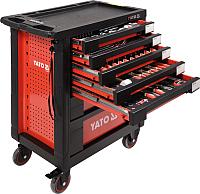 Тележка инструментальная Yato YT-55290 (с набором инструментов) -