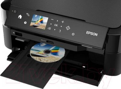 МФУ Epson L850 - печать на дисках