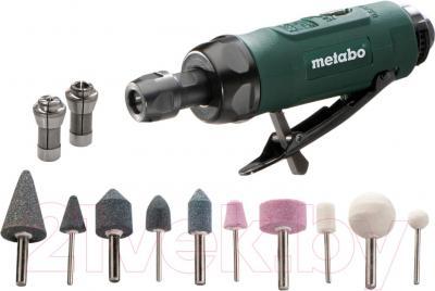 Профессиональная прямая шлифмашина Metabo DG 25 Set (604116500) - общий вид