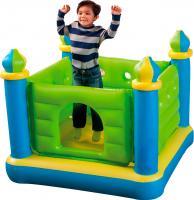 Батут надувной детский Intex Замок 48257NP (132x132) -