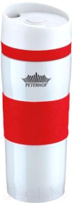 Термокружка Peterhof PH-12418 (красный)
