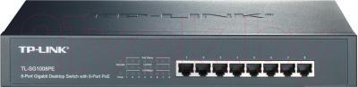 Коммутатор TP-Link TL-SG1008PE - общий вид