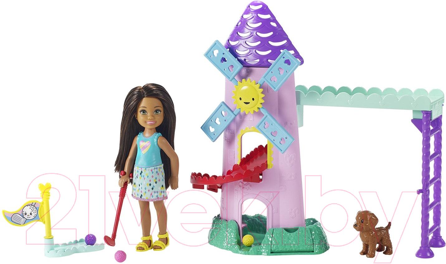 Купить Кукла с аксессуарами Barbie, Челси и зверушка / FDB32/FRL85, Китай, пластик