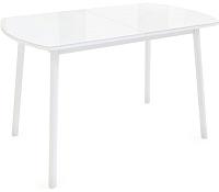 Обеденный стол Listvig Винер Mini 940-1260x64 (белый) -