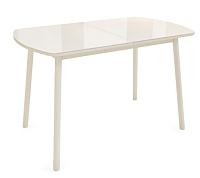 Обеденный стол Listvig Винер 120-152x70 (кремовый) -
