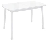 Обеденный стол Listvig Лайк 120-152x70 (белый) -