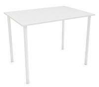 Обеденный стол Listvig Слим 110x70 (белый) -
