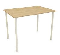 Обеденный стол Listvig Слим 110x70 (дуб/кремовый) -