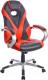 Кресло геймерское Mio Tesoro Франческо X-2763-1 (черный/красный) -