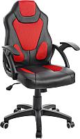 Кресло геймерское Mio Tesoro Пабло X-2756 (черный/красный) -