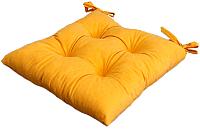 Подушка на стул MATEX Velours / 10-395 (горчичный) -