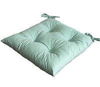 Подушка на стул MATEX Velours / 12-641 (мятный) -