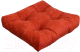 Подушка на стул MATEX Velours / 07-647 (терракотовый) -