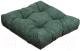 Подушка на стул MATEX Velours / 07-678 (зеленый) -