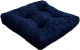 Подушка на стул MATEX Velours / 07-722 (темно-синий) -