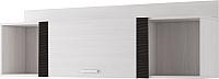 Шкаф навесной SV-мебель Гамма 20 (ясень анкор светлый/венге) -
