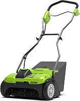 Аэратор для газона Greenworks G40DT30K4 (2504807UB) -