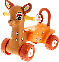 Каталка детская Альтернатива Оленёнок М3893 / 1039217 (коричневый) -