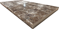 Столешница для шкафа-стола Интерлиния Опал шоколад 38 (60x60) -