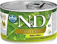 Корм для собак Farmina N&D Prime Boar & Apple Mini (140г) -