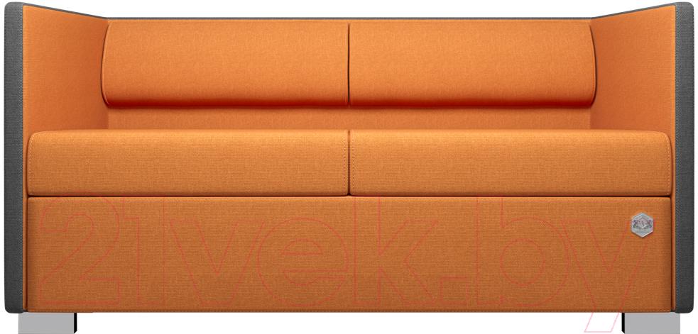 Купить Диван Kulik System, Lounge Line 40/5008 (серый/оранжевый), Украина