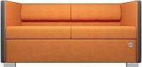 Диван Kulik System Lounge Line 40/5008 (серый/оранжевый) -