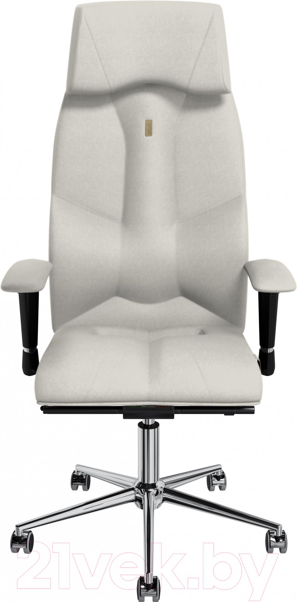 Купить Кресло офисное Kulik System, Business кожа натуральная (белый), Украина, Business (Kulik System)